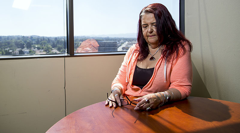 Yamileth Bolanos received a liver transplant in 1996, but suffered while recuperating for years. In 2000, she tried medical marijuana for the first time and has since become one of the most vocal proponents for a California bill that would  prohibit discrimination against medical marijuana patients in need of organ transplants.