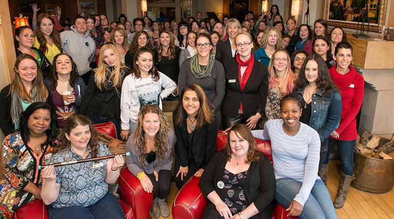 Dozens of female marijuana entrepreneurs gathered in Edwards, Colorado, in May for Women Grow's inaugural Leadership Summit.